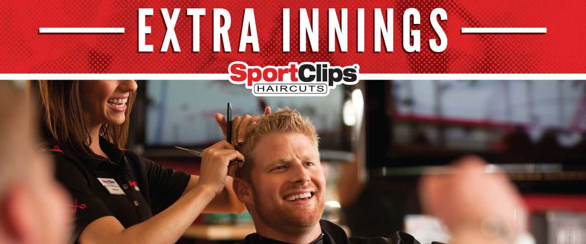 The Sport Clips Haircuts of Hayden Prairie  Extra Innings Offerings